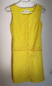 Yellow MOD 60s dress EUC